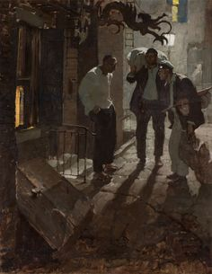 A collection of works by American Illustrator, Dean Cornwell.