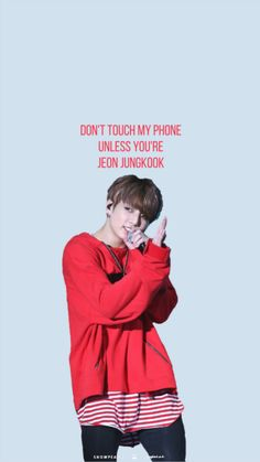Image result for don't touch my phone unless you are bts wallpaper