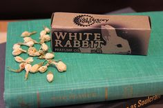 W- White Rabbit Organic perfume oil box Old Factory Soap | Flickr - Photo Sharing!