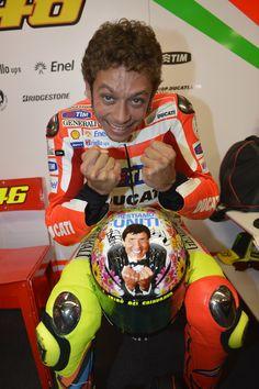 Valentino Rossi, new Mugello Helmet desing.