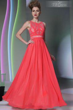 Superb A-Line Straps Zipper-Up Lace Evening Dress