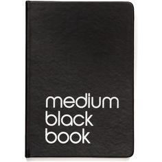 Medium Notebook - Bloomingdale's Exclusive (53 BRL) ❤ liked on Polyvore featuring home, home decor, stationery, fillers, books, accessories, notebooks, extras, backgrounds and text