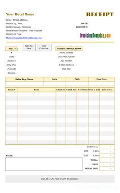 Pin On Invoice Format In Excel