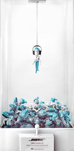 Bose: Office Quiet Comfort 25. Noise Cancelling Headphones. Advertising Agency: Medina Turgul DDB, Istanbul, Turkey Creative Director: Gökhan Erol Associate Creative Directors: Ozan Can Bozkurt, Erdem Köksal Art Director: Buse Şay Copywriter: Serkan Ün Illustrator: Anima İstanbul Published: 2015