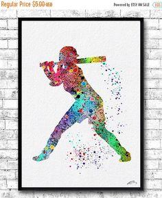 Xmas Sale 20% Off Instant Digital Download Baseball by ArtsPrint