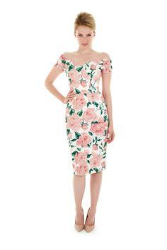 4b2071bebd Fatale Sorrento Pencil Dress The Pretty Dress Company