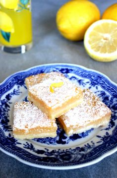 Lemon bars / Sitruunaruudut
