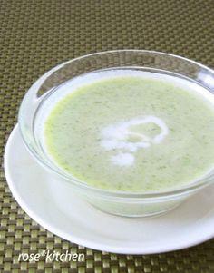 Cold Zucchini Soup ❋ズッキーニの冷たいスープ❋