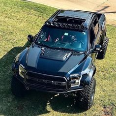 Ford Raptor Pick up Truck Custom Custom Pickup Trucks, Suv Trucks, Jeep Truck, Diesel Trucks, Lifted Trucks, Cool Trucks, Ford Diesel, Truck Camping, Chevy Trucks