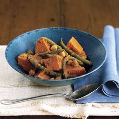 This dish offers the great comfort food elements you know and love — peanut sauce, sweet potato — in a form that makes a weekday feel exotic. Recipe: African Sweet Potato-Peanut Stew   - Delish.com