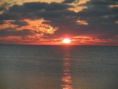 Sunset from the Cay