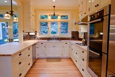 Old River Rd House - traditional - kitchen - portland - Paul Johnson Carpentry & Remodeling