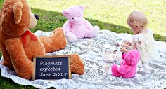 We are expecting baby number 2 and I am sharing our super cute pregnancy announcement photos. Baby Number 2 Announcement, Second Pregnancy Announcements, Pregnancy Announcement To Parents, Big Sister Announcement, Pregnancy Photos, Pregnancy Timeline, Pregnancy Calendar, Pregnancy Belly, Pregnancy Journal