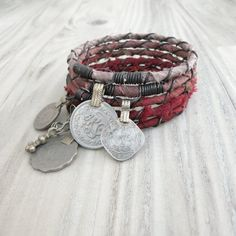 Silk Road Bangle Stack Tribal Gypsy Bracelets 5 by GypsyIntent
