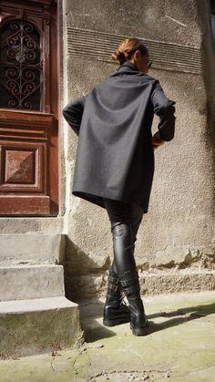 NUOVA collezione Cashmere / Lana stravagante grigio di Aakasha