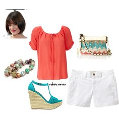 Summer Chic, created by robincarver on Polyvore