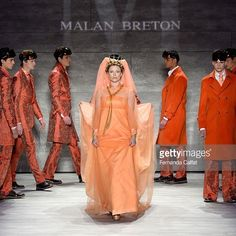 Highlights of Malan Breton's runway show at Mercedes-Benz Fashion Week 2015.
