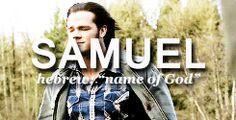 Supernatural names #Sam