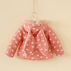 3y4y5y6y+toddler+girl+pink+rabbit+coat+pink+bunny+by+babygirldress,+$34.99