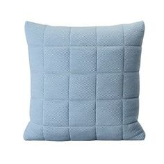 Soft Grid cushion cm from Muuto by Anderssen & Voll Danish Design Store, Aqua Blue, Holiday Gifts, Grid, Cushions, Throw Pillows, Inspiration, Textiles, Home