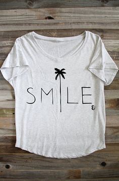 Smile Shirt - Beach