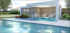 ECO Tuinarchitectengroep | 3D projecten | Zwembad Poolhouse