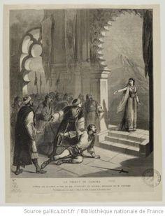 [Le tribut de Zamora, opéra de Charles Gounod : illustrations de presse] - 1