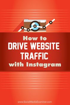 How to Drive Website Traffic With Instagram via @smexaminer (scheduled via http://www.tailwindapp.com?utm_source=pinterest&utm_medium=twpin&utm_content=post14621210&utm_campaign=scheduler_attribution)