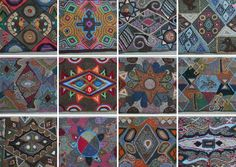 This is a screen shot of a group of the images of the rugs. Love it!