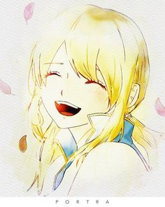 Discovered by ~ Naho ~. Find images and videos about cute, anime and kawaii on We Heart It - the app to get lost in what you love. Fairy Tail Lucy, Fairy Tail Girls, Fairy Tail Nalu, Love Me Forever, Anime Fairy, Wattpad, Edens Zero, Cute, Image