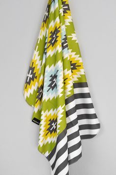 Aztec Stripe Swaddle Blanket by WrenandRumor on Etsy