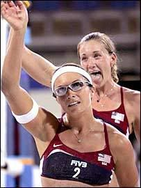 USA Women's Beach Volleyball Players ; Misty May-Treanor & Kerri Walsh Jennings!