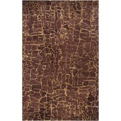 Surya Hand-tufted Tacoma Sepia Wool Rug