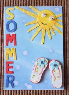 Basteln am Spelunkenturm: Sommer