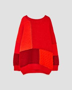 Image 8 of PATCHWORK SWEATER from Zara