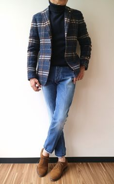 Jackets certainly are a crucial part of every single man's set of clothing. Men require outdoor jackets for several moments and several weather conditions Business Casual Outfits, Business Dresses, Work Casual, Men Casual, Flannel Shirt Outfit, Urban Fashion, Mens Fashion, Blazer Outfits Men, Elegant Man