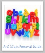 Stain Removal Guide.  I think I will probably need this over the next few years...