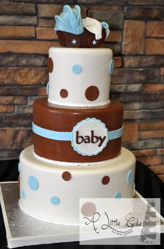 Baby shower cakes new jersey nj bergen county ny sweet baby shower cake negle Images