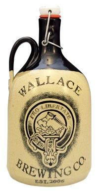 Hand Made Beer Growler: Carlburg Pottery, producer of unique ceramic beer growlers completely made by hand in Montana.