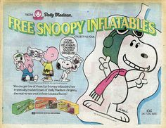Snoopy Inflatables ad