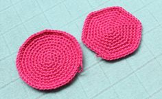 How to crochet a perfect circle