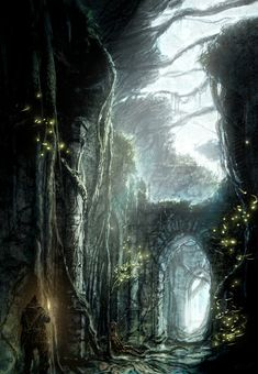 "Concept art for FROM Software's ""Dark Souls 2"""