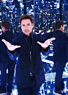 """Robert Downey Jr. for FORTUNE magazine, January 13, 2014, """"The futurist knows"""""""