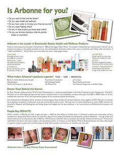 Is Arbonne for You?Arbonne Independent Consultant www.jessicakitts.arbonne.com