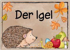 "Ideenreise: Themenplakat ""Der Igel"""