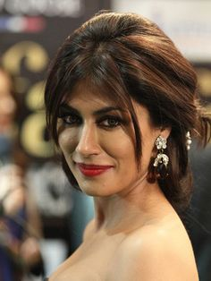 Chitrangada Singh: The very attractive Chitrangada Singh looks lovely in a matte finish red lipstick.