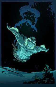 ✭Abe Sapien by Corenthal J. Walker (lines) and Jimmy Tran (colors)