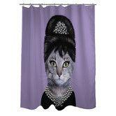 Found it at AllModern - Pets Rock Breakfast Polyester Shower Curtain