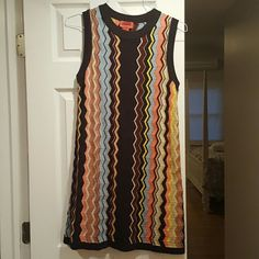 Missoni for Target dress Soft Missoni for Target dress. Can wear any season layered or alone. Beautiful colors. Missoni Dresses