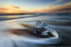 A frozen heart, Iceland. By Iurie Belegurschi Photography